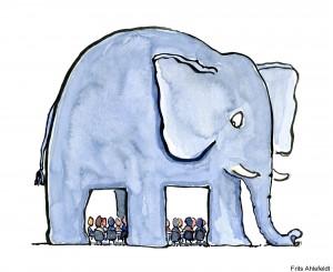 Marco Toft Knudsen taler åbent om elefanten i lokalet, inden den vokser sig for stor.