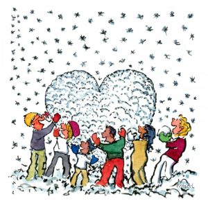 people-making-snow-heart-winter-illustration-by-frits-ahlefeldt